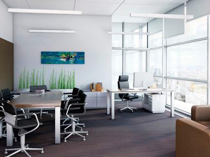 Как правильно подобрать освещение в офисе